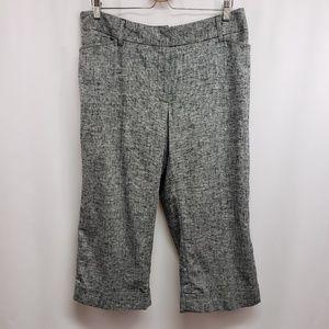 Lane Bryant Plus Size Crop Pant 14 NWT